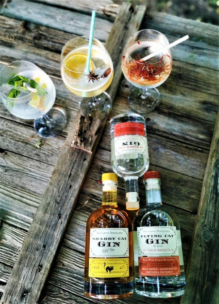 Hrvatski craft gin