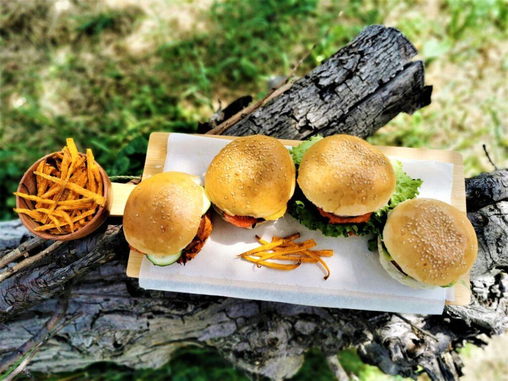 Vegan burgeri